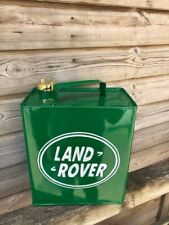 Land Rover Oil Logo - Vintage Decorative Petrol Fuel Jerry Can
