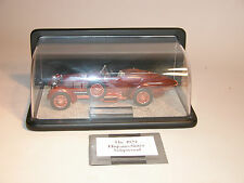 1924 HISPANO-SUIZA TULIPWOOD FRANKLIN MINT 1:24 DIECAST WITH DISPLAY