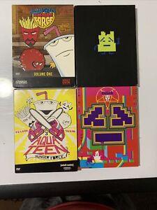 Aqua Teen Hunger Force, Vols. 1-4 (DVD, 8 Disc Set) Missing 1 Slip Cover