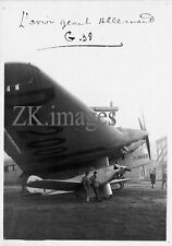 AVION Géant JUNKER G-38 Allemagne Bourget Photo 1930