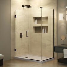 "UnidoorPlus 45 1/2""- 52 1/2"" x 30 3/8"" Shower Enclosure with Stationary Panel"