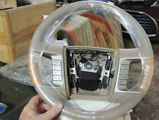 NEW OEM STEERING WHEEL Ford F-150 Leather Tan Accent Steering Wheel7H633F563BEW