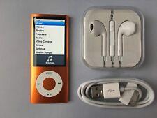 Apple iPod nano 5th Generation Orange (8GB) Mint Condition