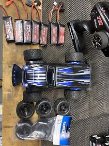 LaTrax Traxxas 1/18 Teton 4WD RTR Brushless! with Hot Racing, Lots OfSpare Parts