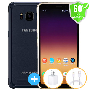 Samsung Galaxy S8 Active | Factory Unlocked | GSM AT&T T-Mobile | 64GB | Mint