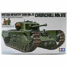 Tamiya 1:35 Mk.IV Churchill Mk.VII British Infantry Tanks - 35210