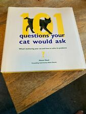 101 Questions Your Cat Would Ask Book- By Honor Head