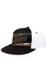 KTM MADER MESH HAT BLACK/WHITE FLEX FIT KTM LOGO CAP SIZE L/XL UPW1458212