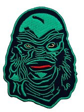 Creature from the Black Lagoon Patch Embroidered Badge Horror Movie Monster