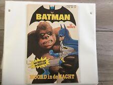 DC Comics , Batman nr 124 , Moord In De Nacht ,1980 , Dutch Language