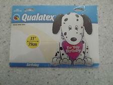 Dalmation Cucciolo per il tuo Compleanno XL Foil Balloon 31 in 79CM PARTY happy