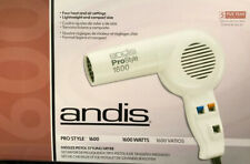 ANDIS Prostyle Hair Dryer 1600 Watts Heat And Air Adjust - White, New In box