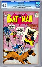 BATMAN #133 CGC 4.5 *BATWOMAN & BATMITE* FINGER STORY SPRANG & MOLDOFF ART 1960