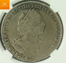 1725 Russia Rouble Peter I NGC VF20