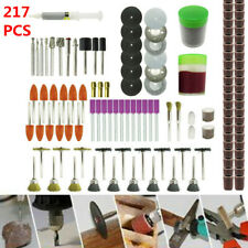 217pcs Electric Grinder Rotary Tool Accessories Kit Mini Rotary Power Drill Set