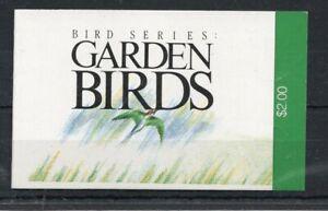 SINGAPORE 1991 Birds booklet superb MNH condition.