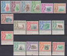 North Borneo 1961 MNH & Mint Mounted Set to $10 Cat £170