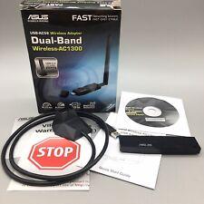 New Open Box Asus USB-AC56 Dual-band Wireless-AC1200 USB 3.0 Wi-Fi Adapter - B03