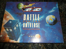 COMPLETO Doctor Who battaglia per l'universo BOARD GAME
