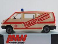 """AMW 72259 VW T4 Bus (1990-1995) """"Samariterbund Österreich"""" 1:87/H0 NEU/OVP"""