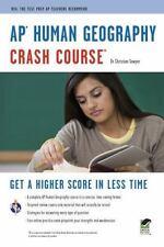 AP Human Geography Crash Course Book + Online Advanced Placement AP Crash Cou