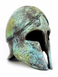 Corinthian Helmet Ancient Bronze Greek Museum Replica (1378)