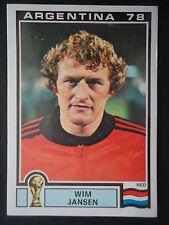 Panini 120 Wim Jansen Niederlande WM 78 World Cup Story