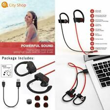 Sweatproof Bluetooth Earbuds Beats Sports Wireless Headphones Stay in Ear New Us
