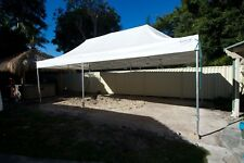 vidaXL Party Marquee White 8x4m Outdoor Garden Tent Gazebo Pavilion Canopy