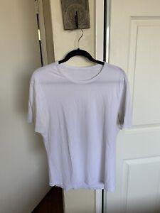 Lululemon Men's 5 Year Basic Tee Shirt Size Small White