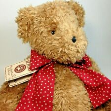 "Boyds Bears Howard McBeansley RARE Plush Teddy QVC Exclusive Chenille Bear 19"""
