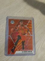 2019-20 Panini Mosaic De'Andre Hunter TMALL Red Wave Prizm RC Rookie #239 Hawks
