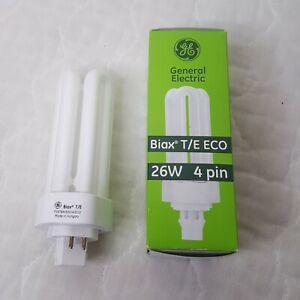 GE F26TBX/830/A/ECO Fluorescent 26W Lamp Light Bulb 4-Pin GX24q-3 3000K