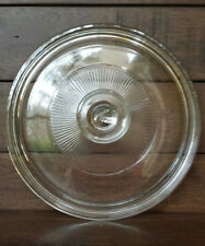 """Pyrex Corning Ware Round Clear Glass Replacement Lid # G5C 