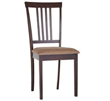 Timber Leather Kitchen Chairs