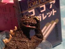 TOHO 1965 GODZILLA ORION IWAKURA candy toy single box  kaiju vintage collectible