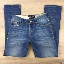 Mavi White Edge Cassy Capri Women's Jeans Size 25 Actual W26 L27 (AG2)