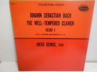 VINTAGE VINYL RECORD THE WELL TEMPERED CLAVIER JOERG DEMUS VOLUME 4 W 9335