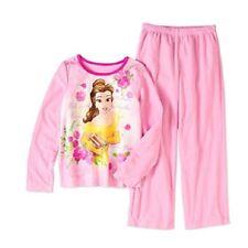NEW Disney Big Girls/' Frozen 4 Piece Cotton Pajama Set SZ 5 6 6X Top Bottom