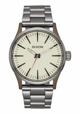 NIXON The Sentry 38 SS Bronze Gunmetal Cerakote Ceramic Watch #A450 2091-00  NEW