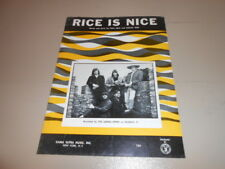 Rice is Nice Sheet Music By The Lemon Pipers 1968, Kama Sutra