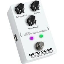 Ampeg Opto Comp Analog Optical Compressor Guitar Pedal Free Ship Lower 48 States