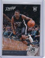 2016-17 Prestige Brooklyn Nets Basketball Card #169 Caris LeVert RC Rookie Card