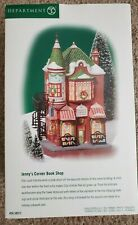 2000 Dept 56 Christmas in the City Jenny'S Corner Book Shop #58912 New