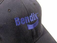 Bendix Flex-Fit Dark Blue Baseball Hat Cap
