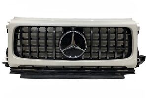 MERCEDES AMG G63 W463 NEW kühlergrill, front grill nr. A4638885200 WEISS PEARL