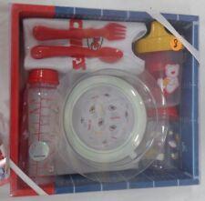 Kansas City Chiefs Football Baby Bottle Toddler Dishes Silverware Bib Gift Set