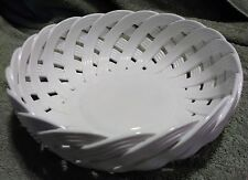 "Nordstrom Waven Porcelaine Basket Bowl Mint Condition 9""x3"""