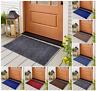Non Slip Rubber Mat Door Mats Washable Indoor Outdoor Doormat Small Bedroom Rugs