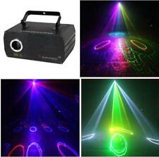 DMX 3D Effect 500mW Red Green Blue Laser Beam Scanner Christmas Decor Light Yc